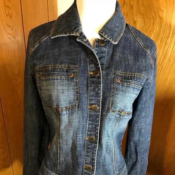 Ann Taylor from Loft Jackets & Blazers - Loft Denim Jacket, size 6